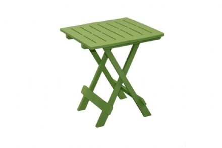 SupaGarden Plastic Folding Camping Table - Green